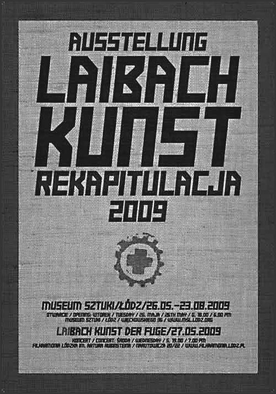 Laibach-Kunst-Lodz-poster